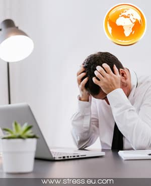 Les statistiques du stress au travail à l'étranger
